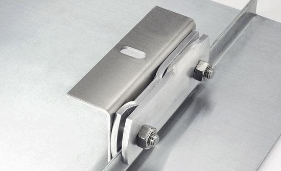Uchwyt do solarów aluminiowy