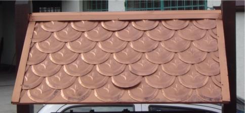 Wykonania dachu z rybiej łuski